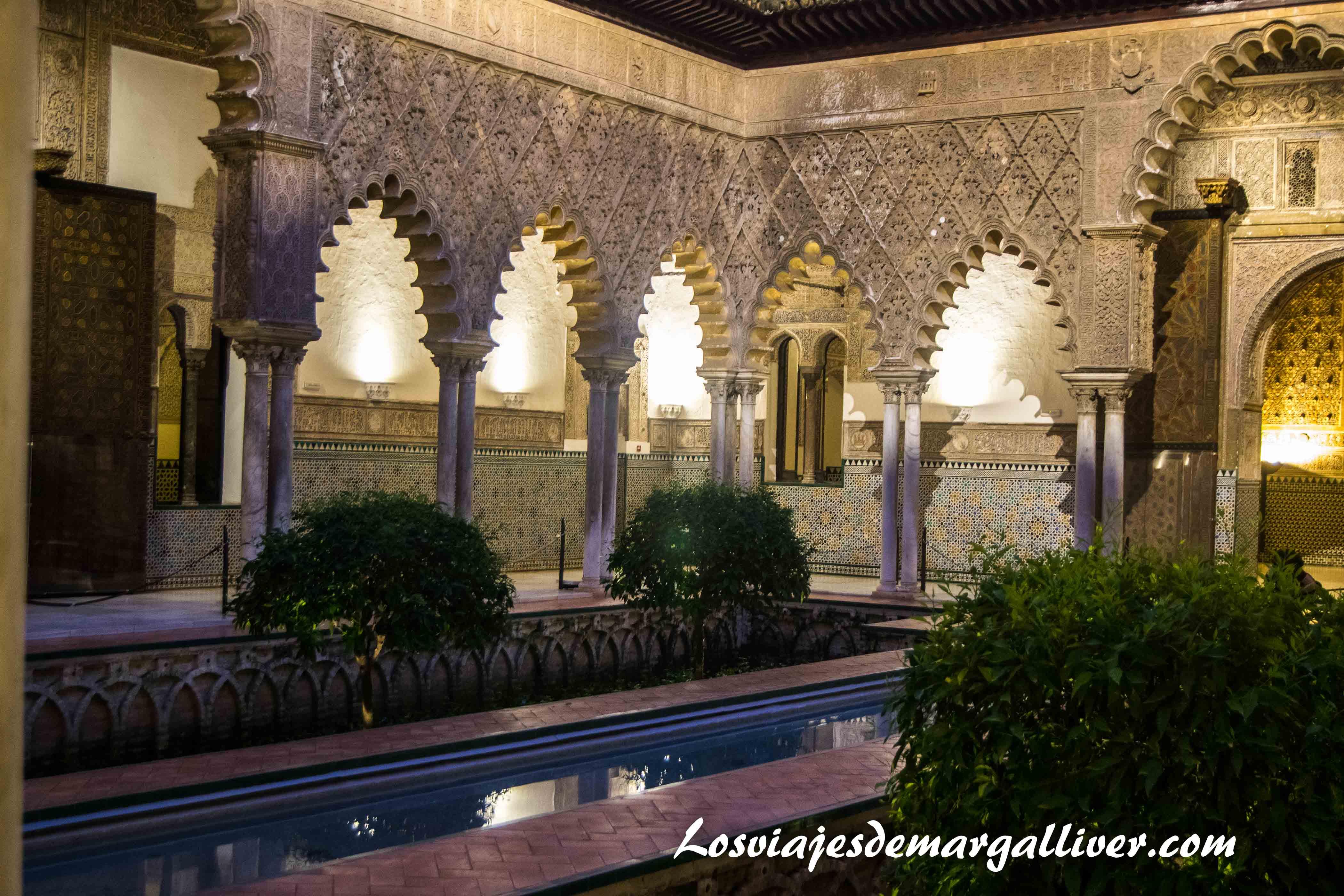 jardin del palacio mudejar del real alcazar de Sevilla - Los viajes de margalliver